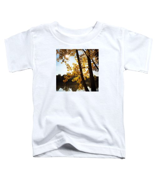 Golden Trees In Autumn Sindelfingen Germany Toddler T-Shirt