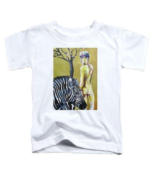Golden Zebra High Noon Toddler T-Shirt