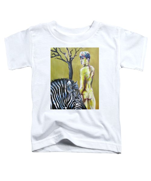 Golden Zebra High Noon Toddler T-Shirt