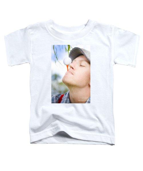 Golf Practice Toddler T-Shirt