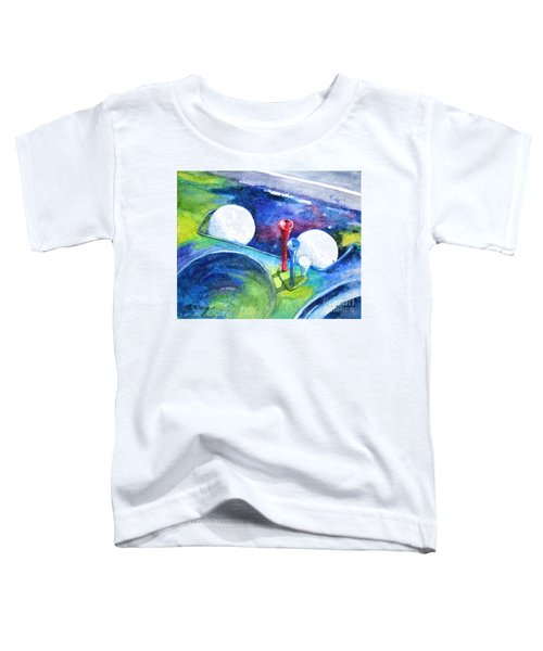 Golf Series - Back Safely Toddler T-Shirt