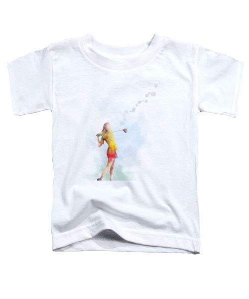 Golfer Toddler T-Shirt