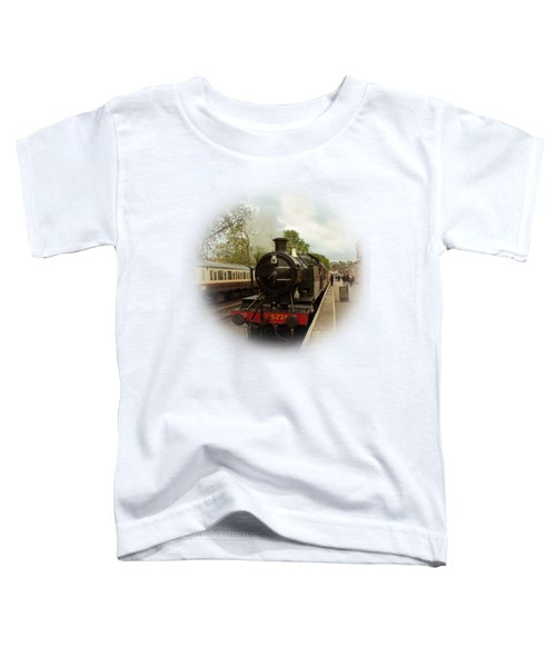 Goliath The Engine And Anna On Transparent Background Toddler T-Shirt by Terri Waters