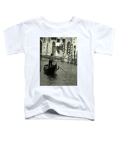 Gondolier In Venice   Toddler T-Shirt