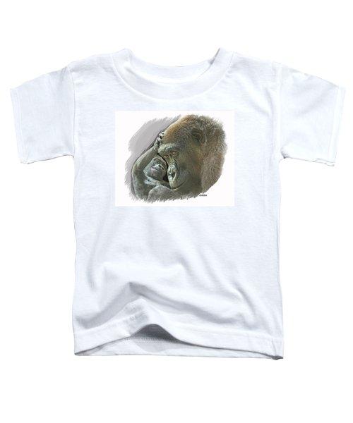 Gorilla Mother Toddler T-Shirt