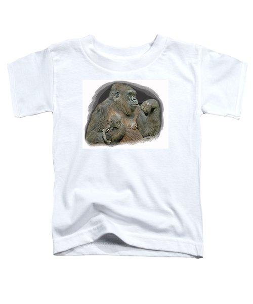 Gorilla Motherhood Toddler T-Shirt