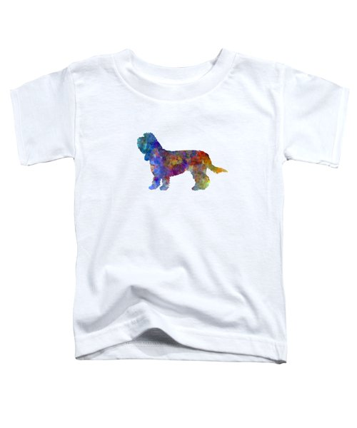 Grand Basset Griffon Vendeen In Watercolor Toddler T-Shirt by Pablo Romero