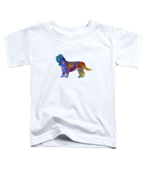 Grand Basset Griffon Vendeen In Watercolor Toddler T-Shirt