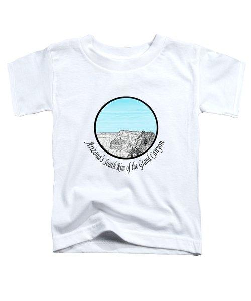Grand Canyon - South Rim Toddler T-Shirt by James Lewis Hamilton