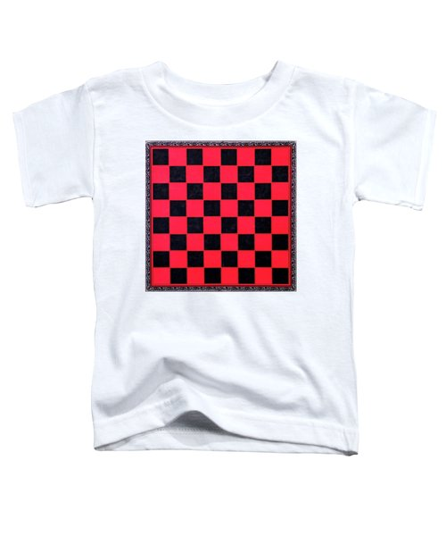 Grandpa's Checkerboard Toddler T-Shirt