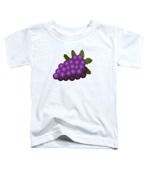 Grapes Fruit Toddler T-Shirt