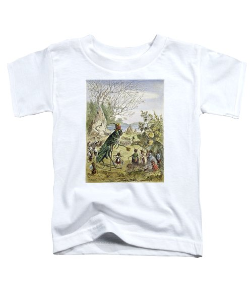 Grasshopper And Ant Toddler T-Shirt by Granger