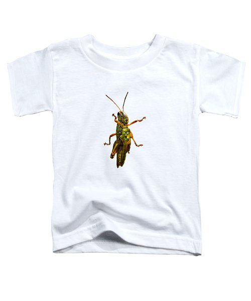 Grasshopper II Toddler T-Shirt by Gary Adkins