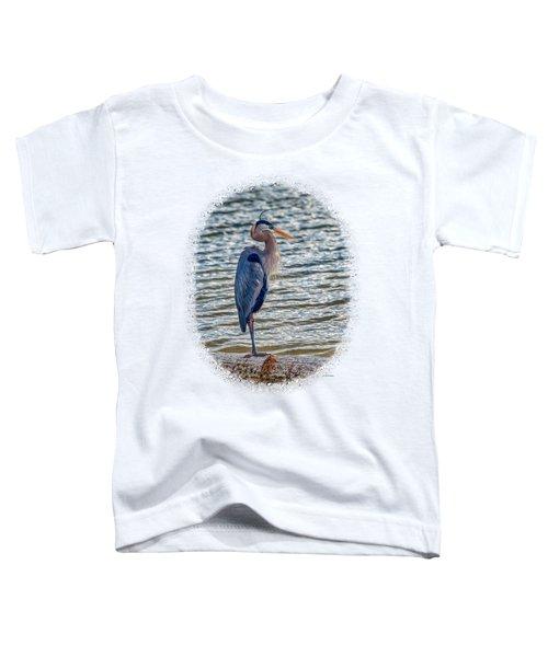 Great Blue Heron Toddler T-Shirt