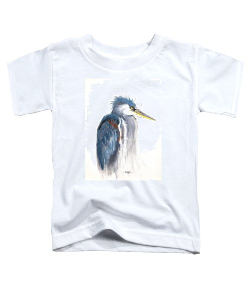Great Blue Heron Toddler T-Shirt