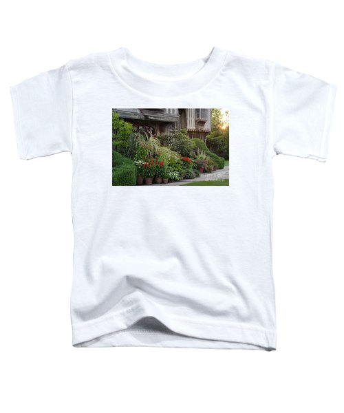 Great Dixter House And Gardens At Sunset 2 Toddler T-Shirt