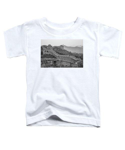 Great Wall 7, Jinshanling, 2016 Toddler T-Shirt by Hitendra SINKAR