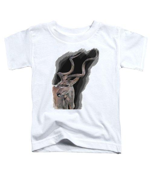 Greater Kudu Toddler T-Shirt