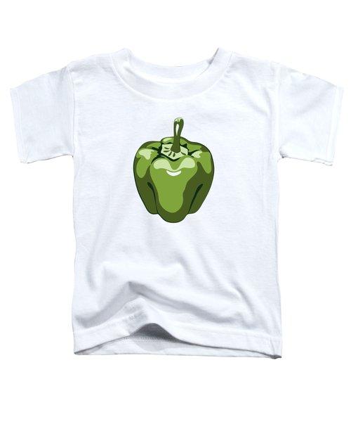 Green Bell Pepper Toddler T-Shirt