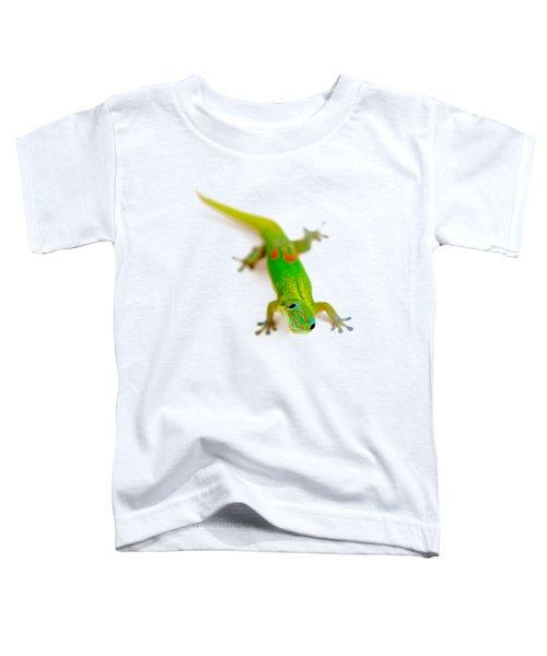 Green Gecko Toddler T-Shirt