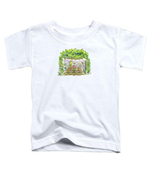 Greenhouse To Volcano Garden Arts Toddler T-Shirt