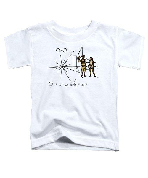 Greetings From Xxi Century Toddler T-Shirt