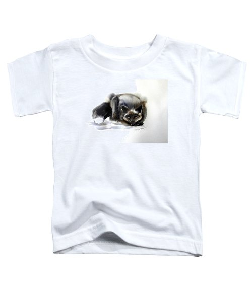 Grey Fox 1 Toddler T-Shirt