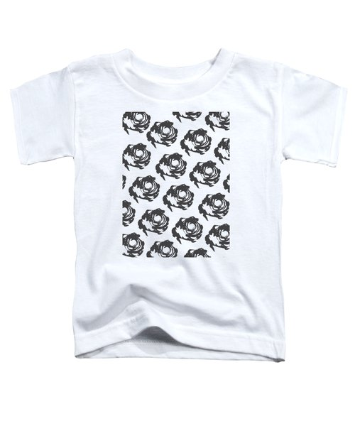 Grey Roses Toddler T-Shirt
