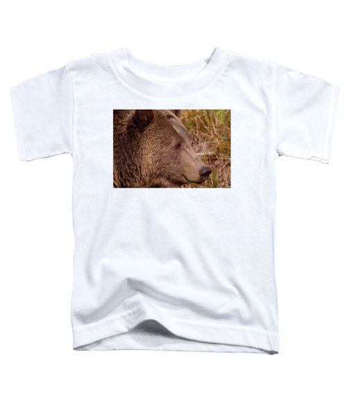 Grizzly Profile Toddler T-Shirt