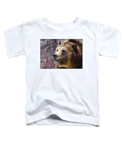 Grizzly Smile Toddler T-Shirt