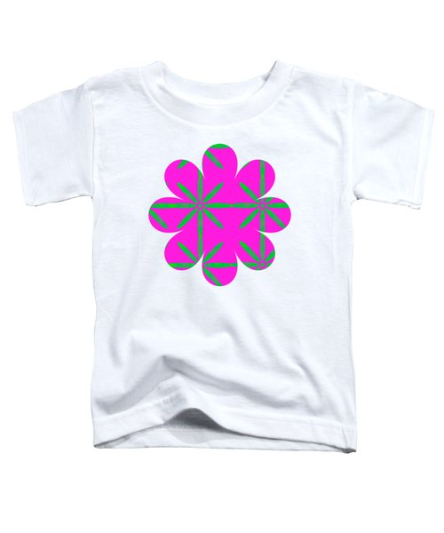 Groovy Flowers Toddler T-Shirt