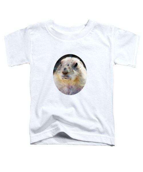 Ground Squirrel Portrait Toddler T-Shirt by Laurel Powell