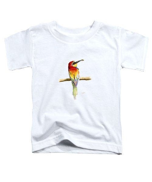 Gruccione  - Bee Eater - Merops Apiaster Toddler T-Shirt