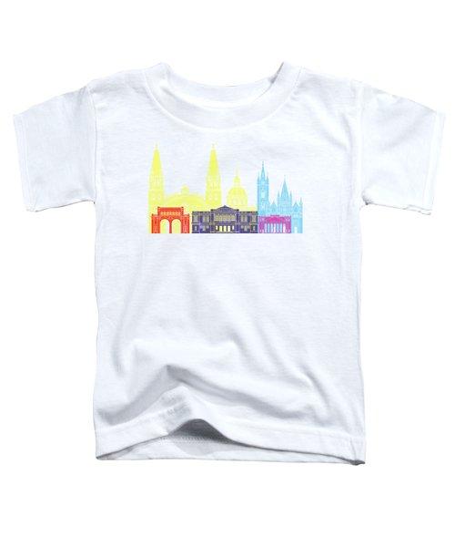 Guadalajara Mx Skyline Pop Toddler T-Shirt