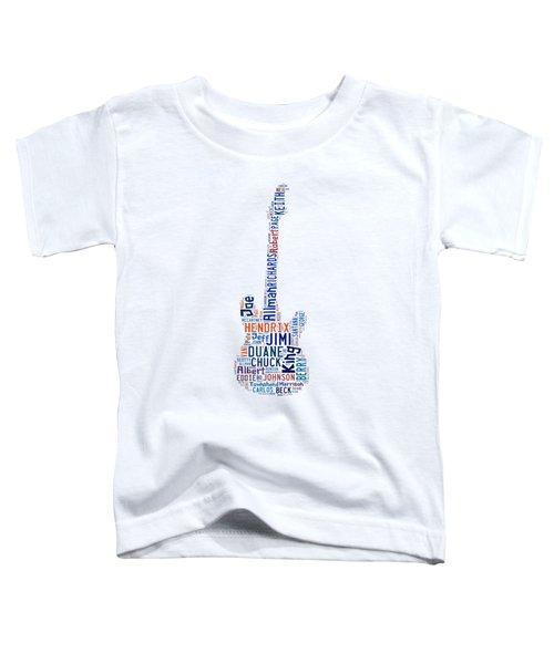 Guitar Legends Toddler T-Shirt