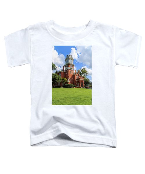 Gwinnett County Historic Courthouse Toddler T-Shirt