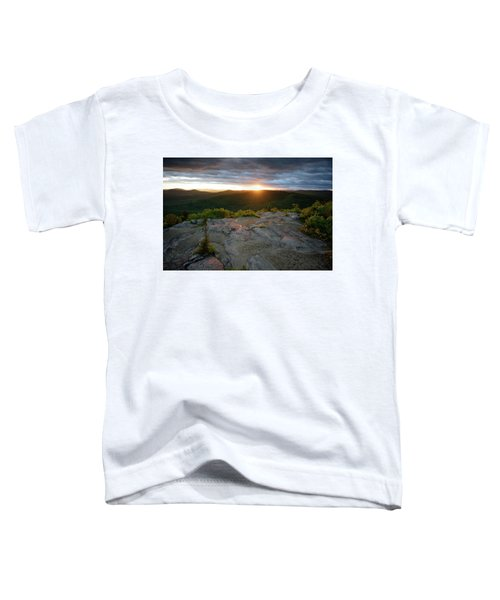 Hadley Mountain Sunset Toddler T-Shirt