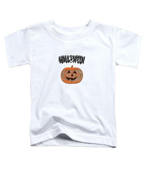 Halloween Pumpkin Toddler T-Shirt