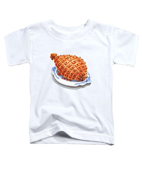 Ham On The Plate Toddler T-Shirt