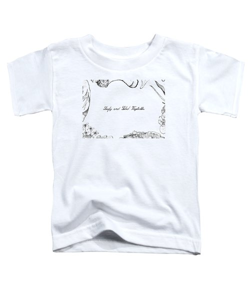 Hand Drawn Of Leafy And Salad Vegetable Toddler T-Shirt