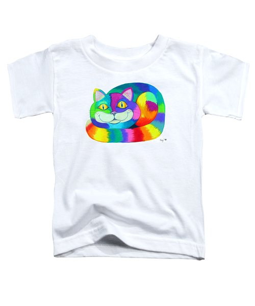 Happy Cat Toddler T-Shirt
