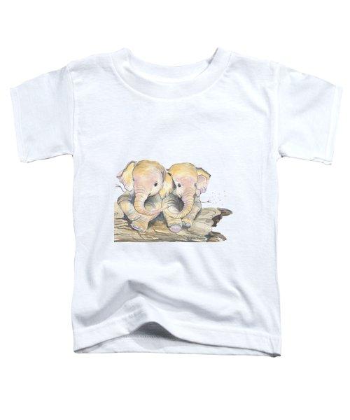 Happy Little Elephants Toddler T-Shirt