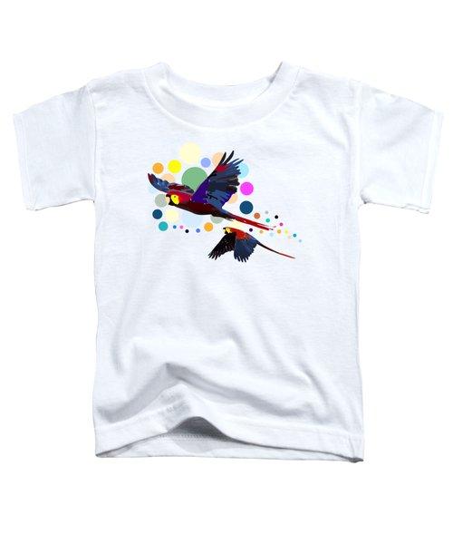 Happy Parrots Toddler T-Shirt