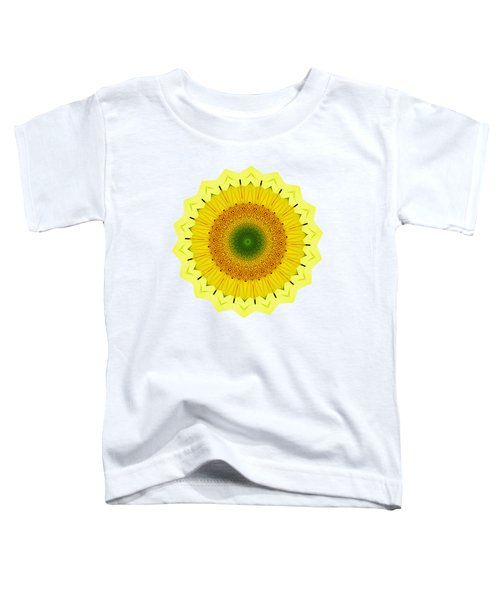 Happy Sunflower Mandala By Kaye Menner Toddler T-Shirt