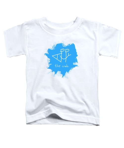 Happy The Crab - Blue Toddler T-Shirt