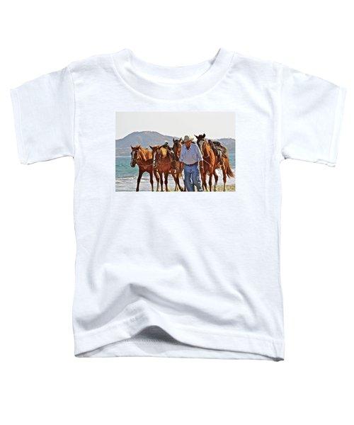 Hardworking Man Toddler T-Shirt
