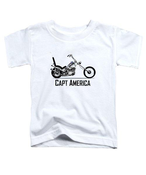 Harley Captain America Toddler T-Shirt