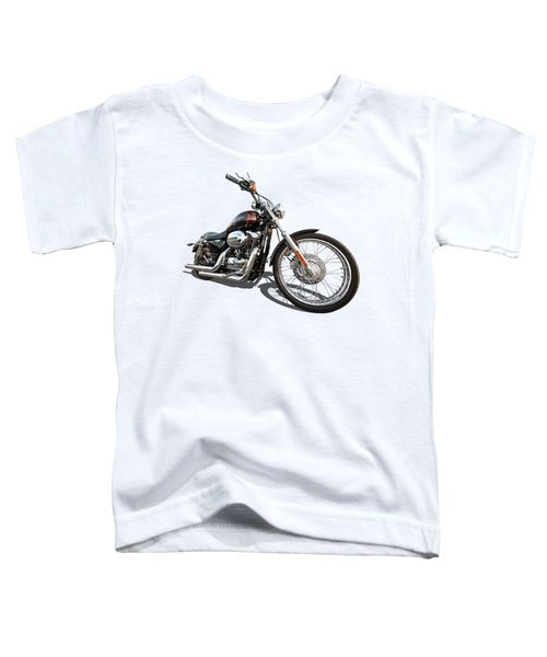 Harley Sportster Xl1200 Custom Toddler T-Shirt by Gill Billington