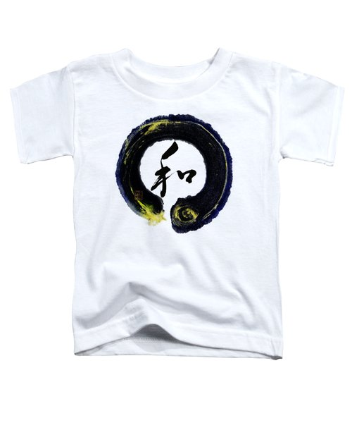 Harmony - Peace With Enso Toddler T-Shirt