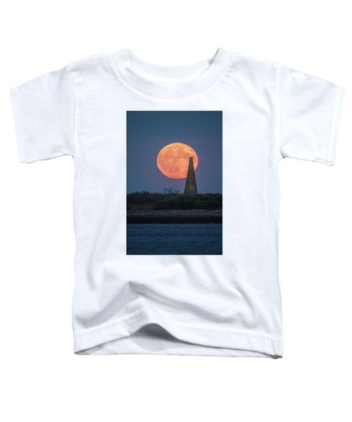 Harvest Moon Over Stage Island, Maine Toddler T-Shirt